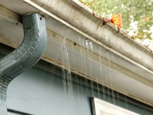 Overflowing gutter - get Clean Pro Gutter Cleaning to help.