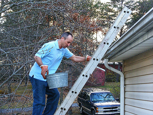 Ways to Clean Gutters