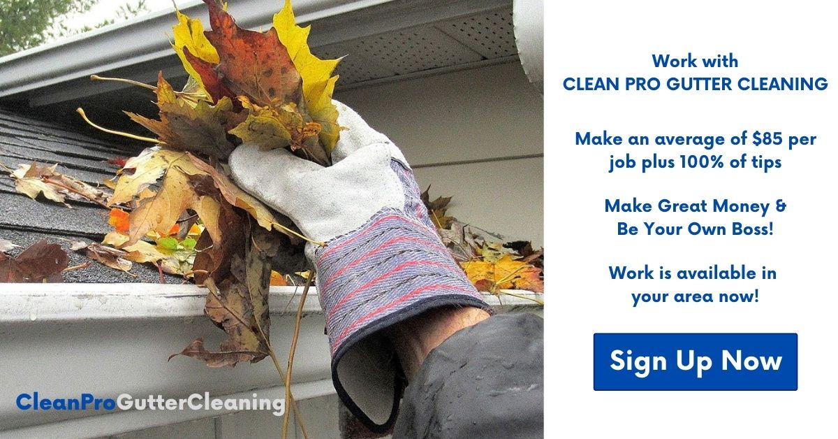 Sign Up Now To Be A Vendor For Clean Pro Gutter Cleaning
